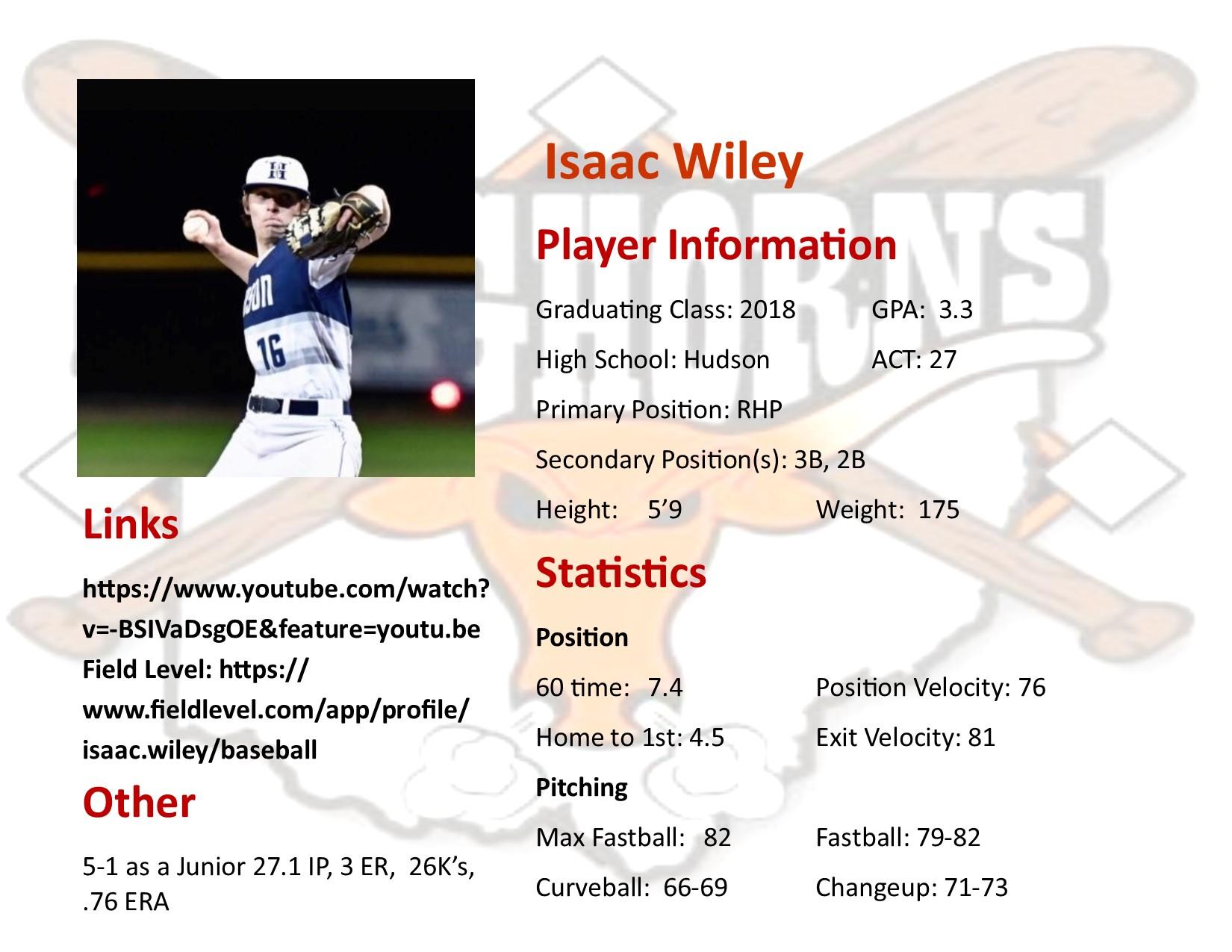 Isaac Wiley