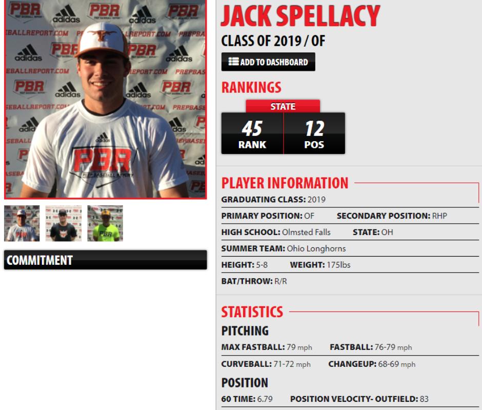 2019 OF Jack Spellacy