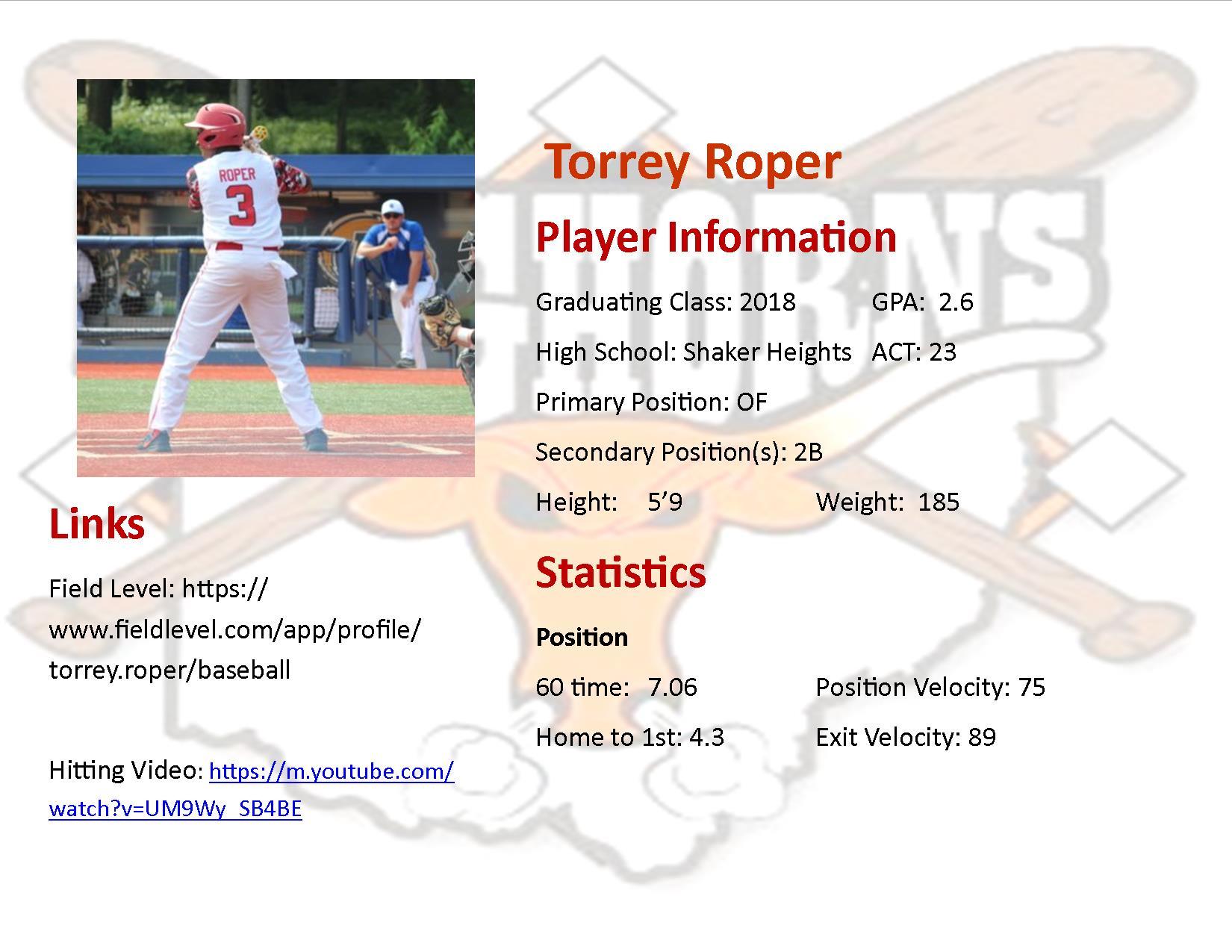 Torrey Roper