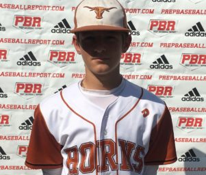 15UHorns (Pecnik) MIF Peter Jelenic Named a Top Performer at PBR Freshman Event